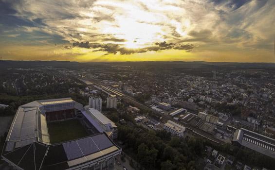 Vorschaubild: Luftaufnahme des Fritz-Walter-Stadions