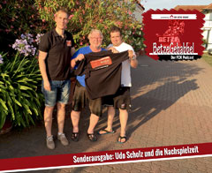 Tobi, Udo Scholz, Flo (von links)