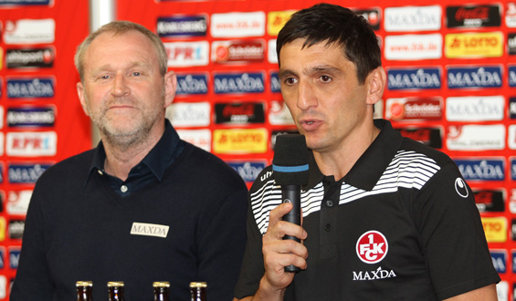 Uwe Stöver und Tayfun Korkut