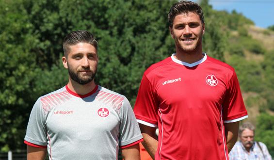 Die neuen FCK-Trikots zur Saison 2017/18