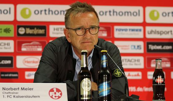 FCK-Trainer Norbert Meier