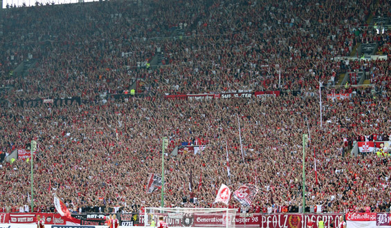 Volle Hütte im Juli: Über 40.000 Zuschauer sehen den 1:0-Heimsieg gegen die Münchner Löwen