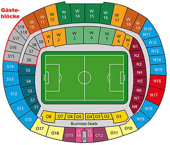 Hdi Arena Sitzplan