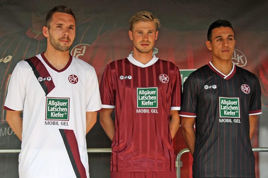 Präsentation der neuen FCK-Trikots zur Saison 2010/11   Der Betze brennt
