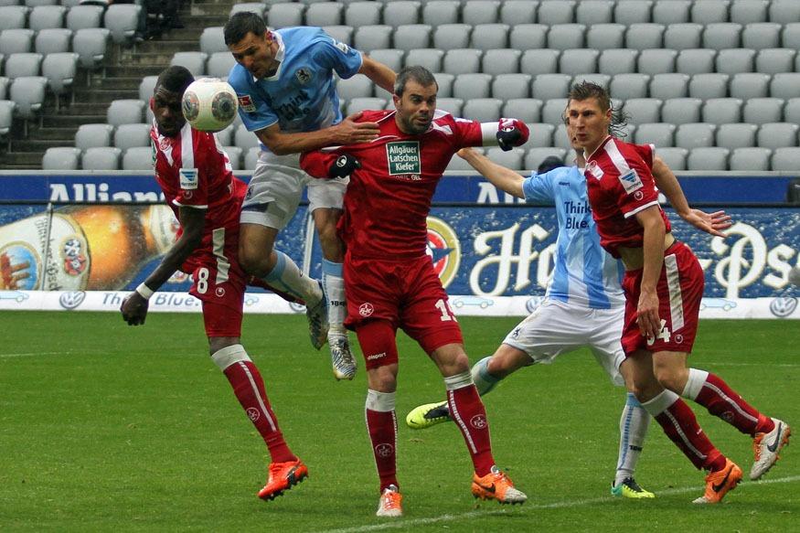 Spielszenen: 1860 München - 1. FC Kaiserslautern 0:1 (0:0 ...