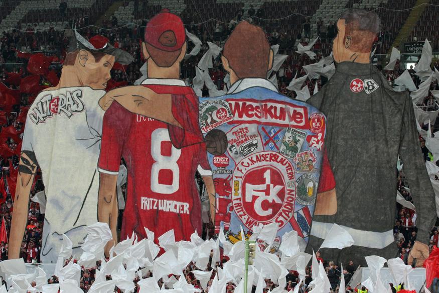 Spruchband der FCK-Fans: