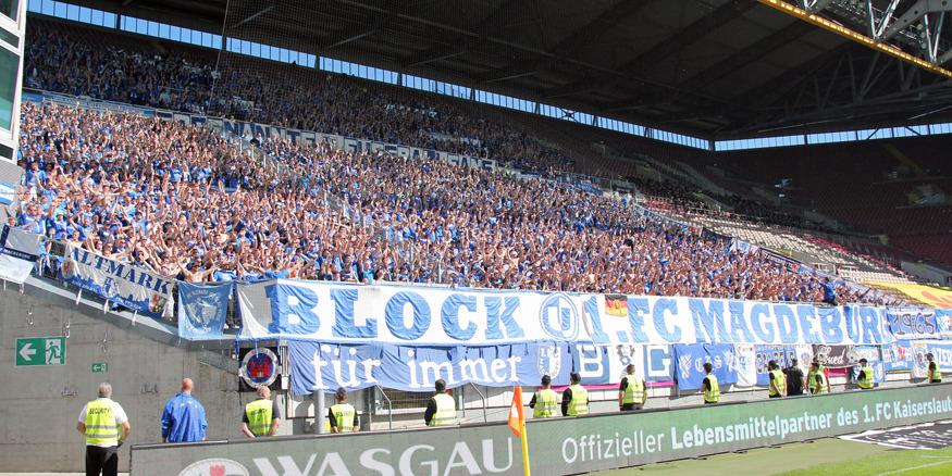 FCM-Fans im Gästeblock