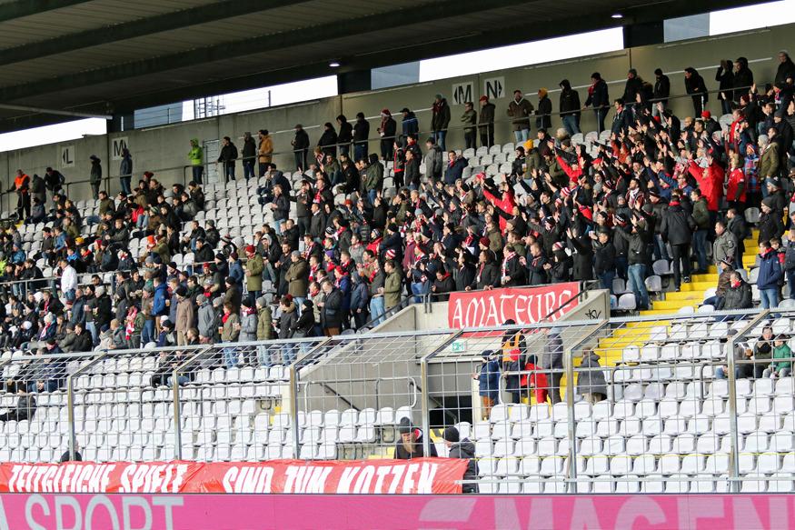 Bayern-Fans in der Stehhalle