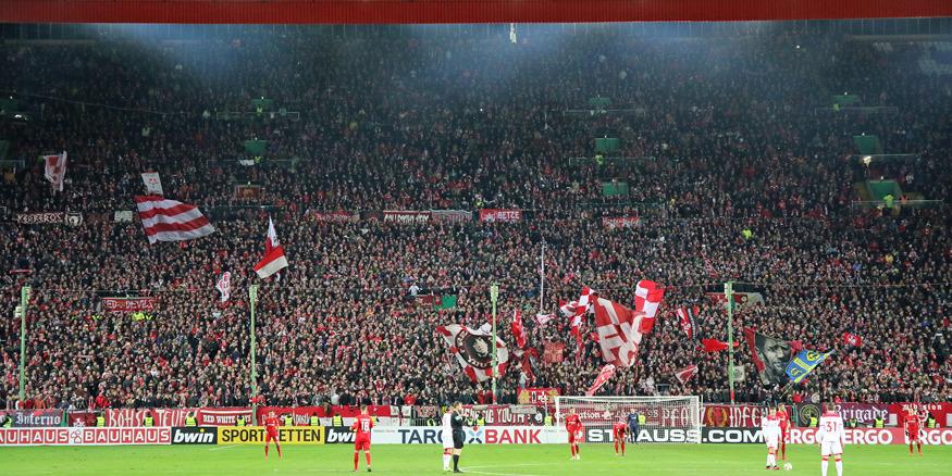 Torjubel nach dem 2:1-Führungstreffer für den FCK
