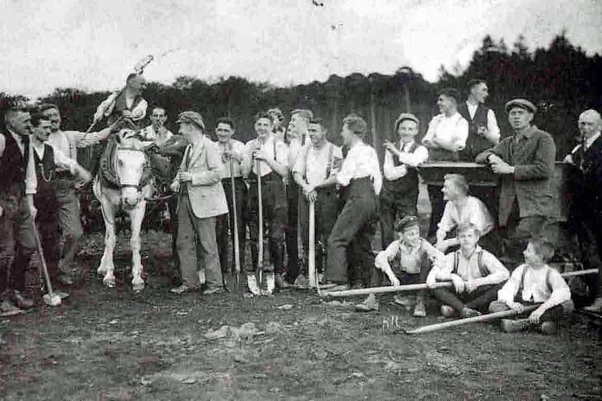 Der Betzenberg im Jahr 1919
