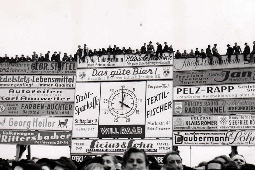 Der Betzenberg im Jahr 1948