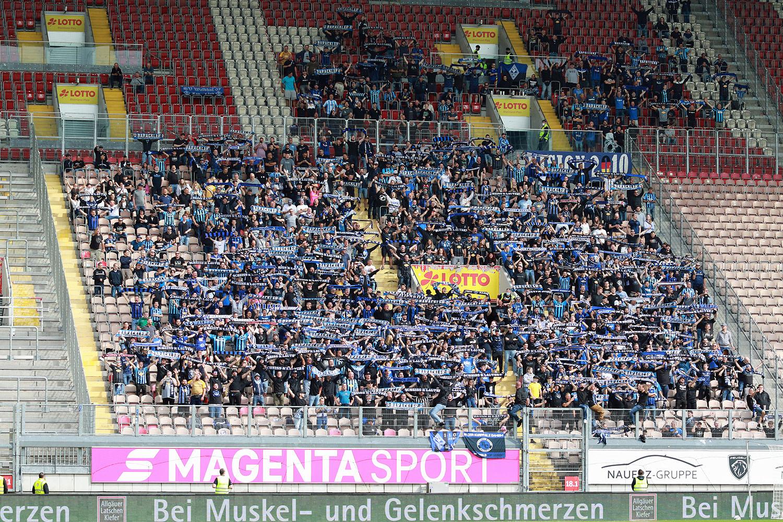 1.000 Waldhof-Fans im Gästeblock