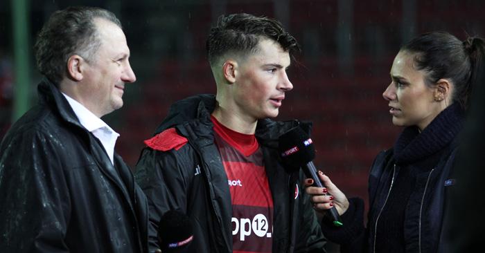 Robin Koch mit Vater Harry