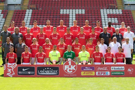 Das neue Mannschaftsfoto des 1. FC Kaiserslautern zur Saison 2010/20
