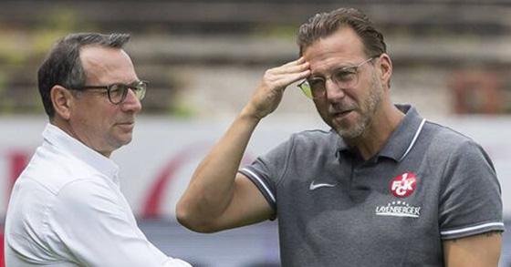 Sascha Hildmann (r.) und Martin Bader; Foto: Imago Images