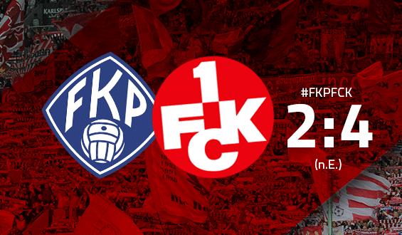 Endergebnis: FK Pirmasens - 1. FC Kaiserslautern