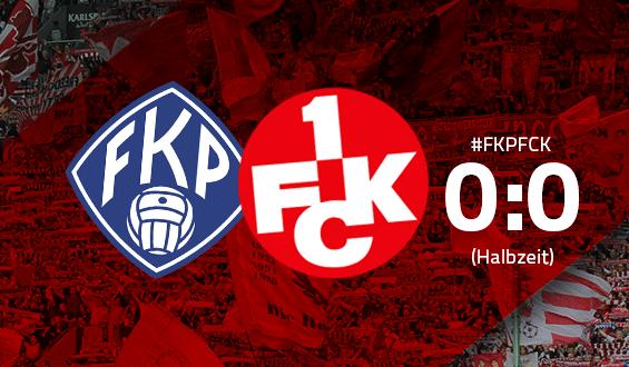 Halbzeit-Ergebnis: FK Pirmasens - 1. FC Kaiserslautern 0:0