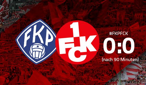 Ergebnis nach 90 Minuten: FK Pirmasens - 1. FC Kaiserslautern 0:0