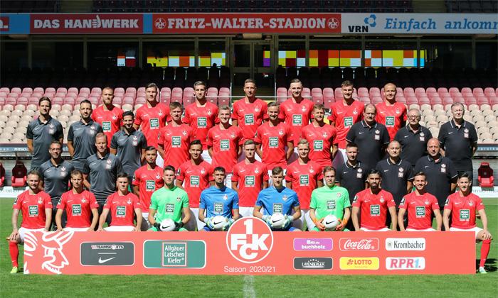 Das neue Mannschaftsfoto des 1. FC Kaiserslautern zur Saison 2020/21