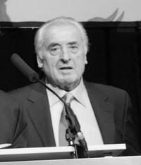Rudi Merk bei der Mitgliederversammlung im Dezember
