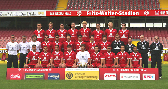 1 Fc Kaiserslautern Kader